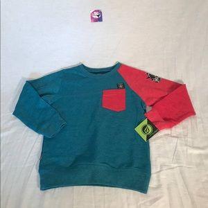 NWT Kids Volcom Reason Crewneck Sweatshirt